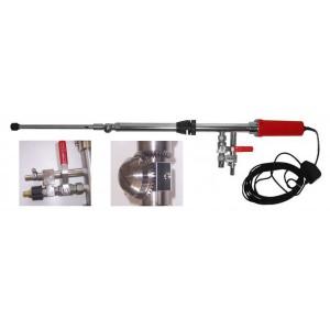 Macchina manuale per il lavaggio di barriques da 225-228 lt, mod. IDROWASH