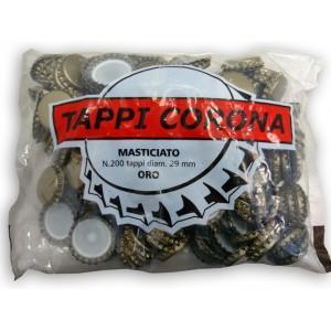 Tappi corona diam.29,5 conf.200 pezzi