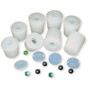 Tappo al silicone per barrique con sfera acciaio 316