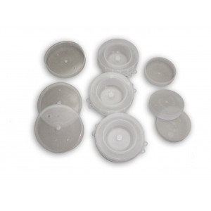 Calotta plastica mod.leggero diam. 77 per damigiana da 54 lt