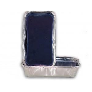 Gomma lacca blu vaschetta da 0,5 kg