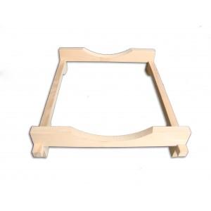 Porta barrique in legno di faggio