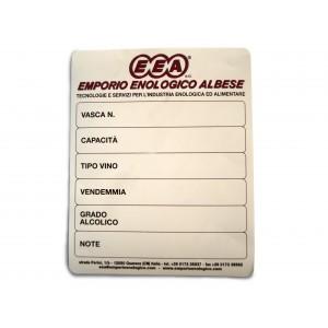 Lavagnetta etichetta 15 x 5 x 20 emporio