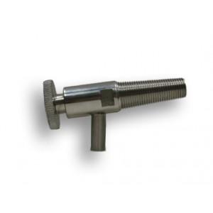 Assaggiavino inox attacco legno diam.int. 9 mm