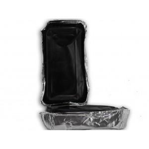 Gomma lacca nera vaschetta da 0,5 kg