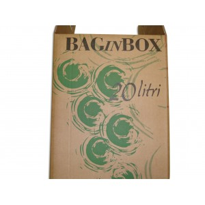 Scatola per bag in box 20 lt