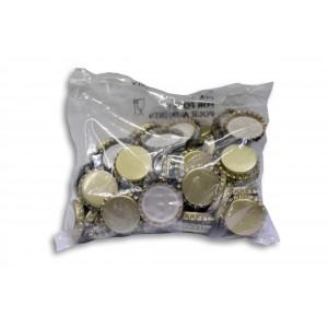 Tappi corona diam.31 conf. 100 pezzi