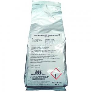 Acido Citrico monoidrato conf. 1 kg
