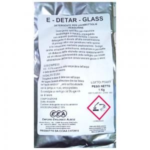 Detergente polvere per bottiglie E-Detar-Glass 1 kg