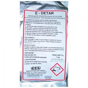 Detergente polvere per cantina E-Detar 1 kg
