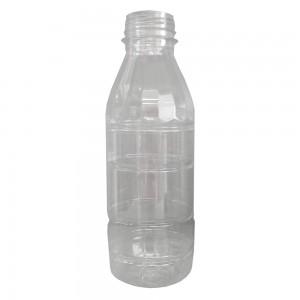 Bottiglia in plastica trasparente 500 ml