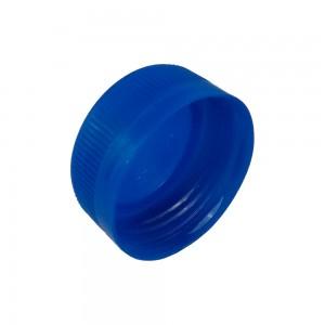 Tappo plastica blu per bottiglia da 500 ml