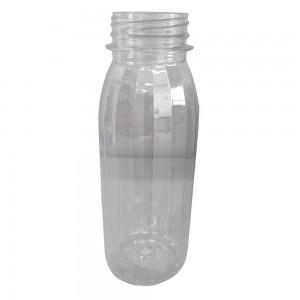 Bottiglia in plastica trasparente 250 ml